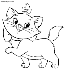 marie aristocats aristocats marie coloring pages marie