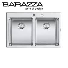 Abey Kitchen Sinks Abey Barazza 2 Bowl Kitchen Sink 1lbo82 Rrp 1431 Sa Appliance