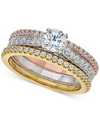 what is a bridal set ring bridal set womens engagement and wedding rings macy s