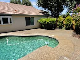 Exposed Aggregate Patio Pictures by Exposed Aggregate Patio Added To Pool Deck Solano County Yolo