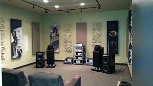 home theater sound panels fabric wrapped panels acoustics first blog