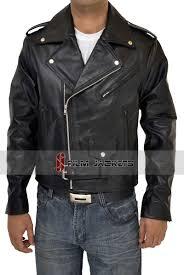 motorcycle clothing terminator jacket collections arnold schwarzenegger jackets