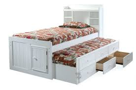 Platform Bed Headboard Full Size Platform Bed With Storage And Bookcase Headboard Robys