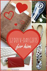 v day gifts for boyfriend 12 diy s gifts for him seams and scissors