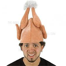roast turkey hat turkey costume headpiece thanksgiving hat turkey