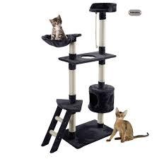 modern scratching post 70 off petpremium cat kitten tree tower condo indoor hammock bed