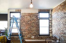 Interior Brick Veneer Home Depot Installing Brick Veneer Inside Your Home U2022 Vintage Revivals