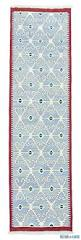 k0008729 light blue new turkish kilim runner rug kilim rugs