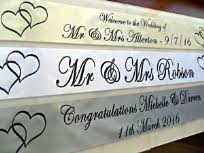 Congratulations Wedding Banner Personalised Wedding Banners