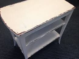 How To Shabby Chic by How To Shabby Chic Distress Your Furniture Using Vaseline Diy