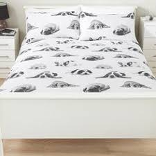 Asda Single Duvet Woodland Block Print Duvet Set Duvet Covers Asda Direct For