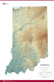 Actual World Map by New State Map From Indiana Geological Survey Makes Use Of High Res