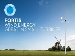 Small Wind Turbines For Home - fortis wind energy home