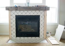 fireplace makeover octagon u0026 dot tile averie lane fireplace