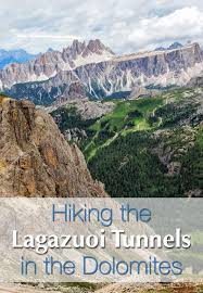Dolomites Italy Map by Hiking The Lagazuoi Tunnels In The Dolomites Italy Earth Trekkers