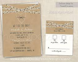 wedding reception only invitations print wedding reception invitations best 25 reception only