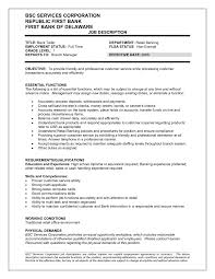 Retail Resume Duties Download Job Description Sample Resume Haadyaooverbayresort Com