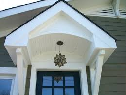 Awning Diy Front Doors Terrific Front Door Overhang For Modern Home Outside