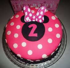 minnie mouse 2nd birthday cake ideas image inspiration of cake