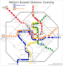 Fort Benning Map Which Metro Stations Are Busiest U2013 Greater Greater Washington