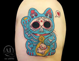 gezhang money cat illustration new japanese cat