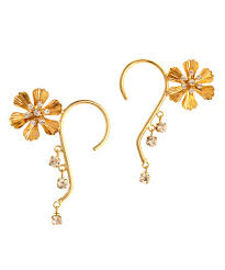 ear cuffs online india precious petals ear cuff