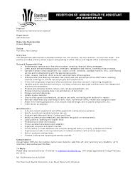 Entry Level Administrative Assistant Resume Sample by Sample Resumes For Administrative Assistants Free Resume Example