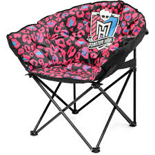 Monster High Bedroom Furniture by Monster High Diecut Tween Camp Chair Walmart Com