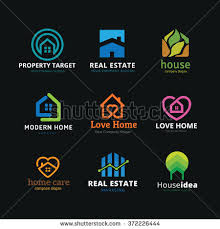 Home And Design Logo Collection Agency Stock Images Royalty Free Images U0026 Vectors