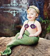 Infant Mermaid Halloween Costume 10 Baby Crochet Mermaid Costume Princess