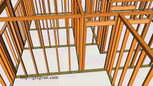 house framing plans house wall framing u2013 3 d single story conventional home framing