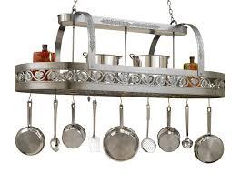 Hanging Pot Rack In Cabinet by Hi Lite Leaf Collection 65