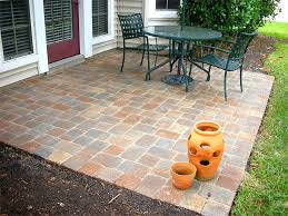 Patio Paving Designs  Smashingplatesus - Backyard paver patio designs pictures