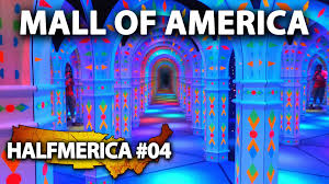 Map Mall Of America Crazy Mirror Maze At The Mall Of America Halfmerica Youtube