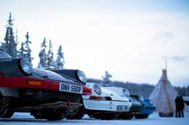 porsche snow porsche ice rallying with snow safari in sweden for two total
