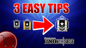 Buy Rainbow Six Siege Gold How To Get To Platinum From Silver Or Gold Rainbow Six Siege