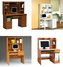 Simple Computer Desk Simple Office Small Metal Wood Computer Table Desk Small Tablet Pc