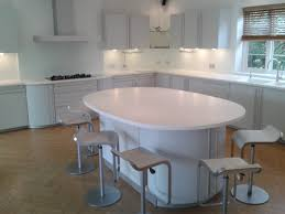 glacier white corian kitchen worktops counter production ltd