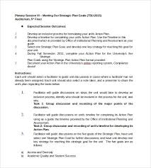 sample strategic action plan 9 documents in pdf word