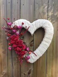 burlap wreaths for sale burlap heart shaped wedding or s wreath with roses