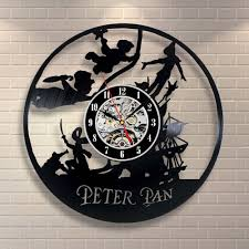 peter pan disney neverland vinyl home decor wall art gift animal