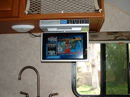 appliance under the cabinet tv for the kitchen easy under