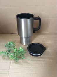 Heated Coffee Mug by Car Electric Travel Mug 12v Insulated Stainless Steel Heated Cup