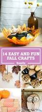 18 festive fall crafts that make decorating for autumn easy leaf