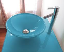 fresh ideas glass bathroom sinks and vanities tempered glass sink