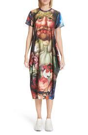 print dress comme des garçons vertumnus print dress nordstrom