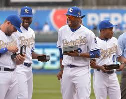 royals going with gold trimmed uniforms for friday home games