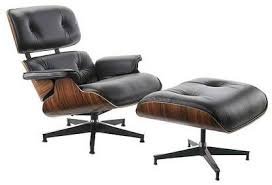 Reupholster Leather Ottoman Nyc Eames Lounge Chair 670 And Ottoman 671 Reupholstery In