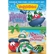 veggie tales easter veggietales an easter carol abe and the amazing promise dvd