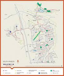 Old Orchard Mall Map Valencia Paseo System And Map Valencia Santa Clarita Ca